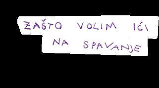 Autorska slikovnica Zašto volim ići na spavanje Ana Kadoić