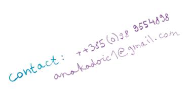 Contact Ana Kadoić
